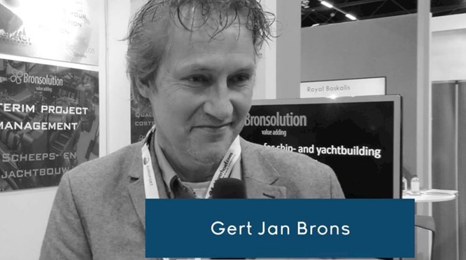 Green engineering 2.0 - Bronsolution on Europort 2019